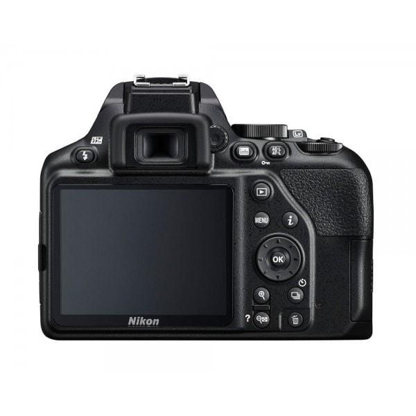 Vista trasera de la Nikon D3500