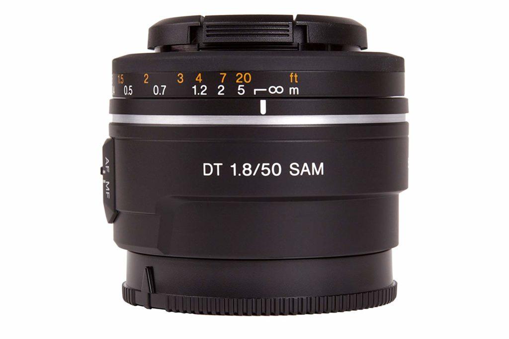 Objetivo sony para montura A 50mm f/1.8