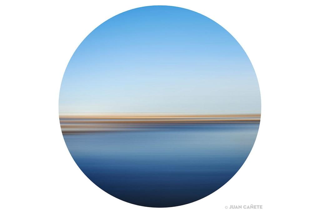 Imagen de paisaje abstracto