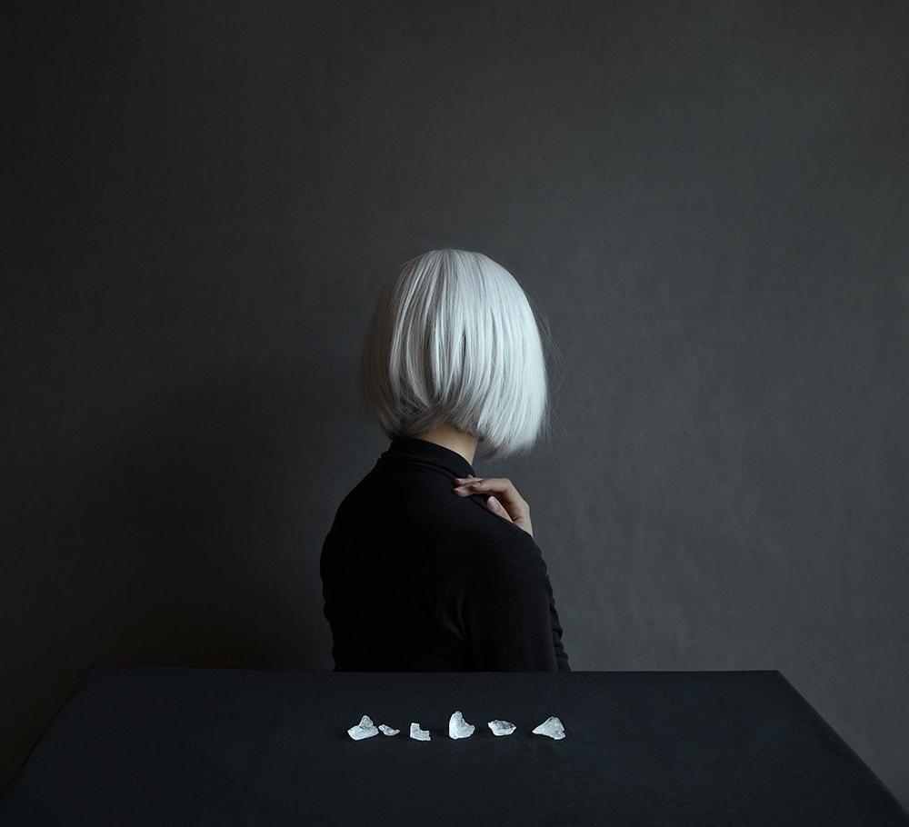 Retrato parte del proyecto fotográfico personal de Andrea Torres
