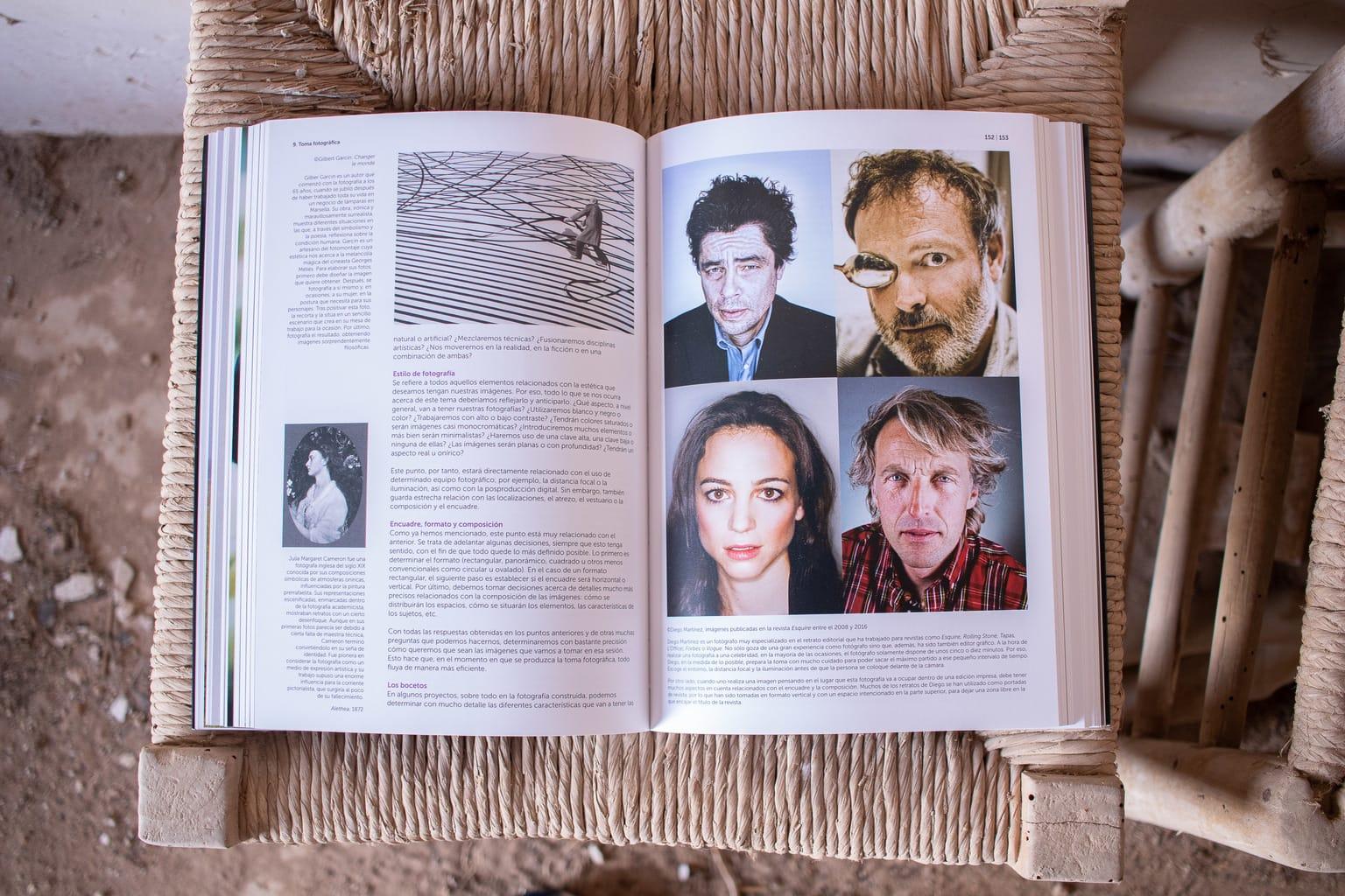interior del libro El proyecto fotográfico personal