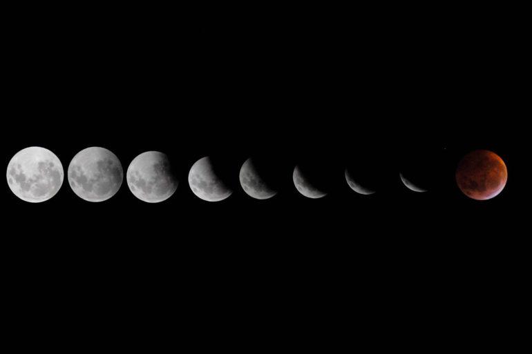time lapse eclipse