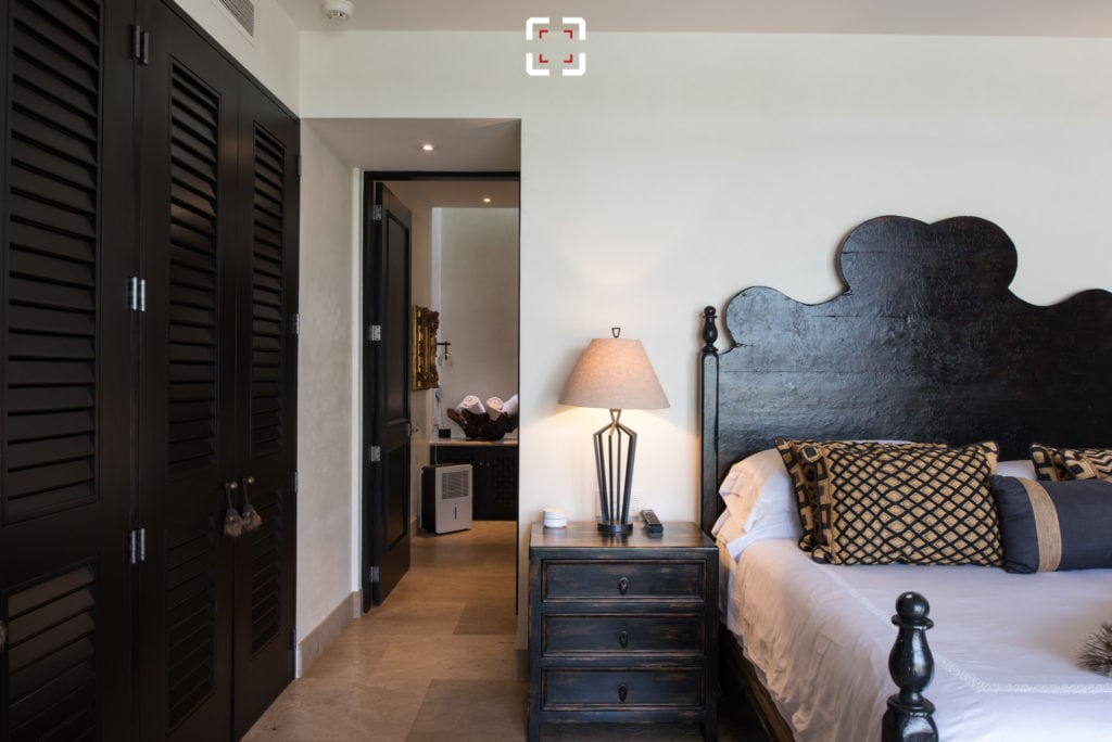 Dormitorio fotografiado sin tilt shif cambiando la posición
