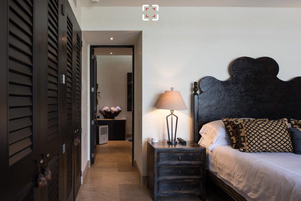Dormitorio fotografiado con un objetivo tilt shif