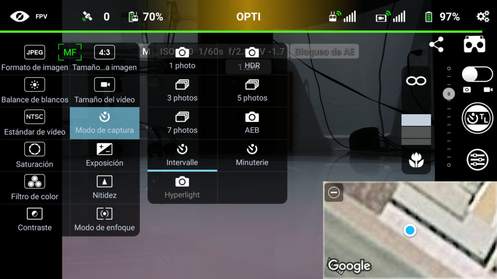 Captura de Imagen de aplicación Litchi