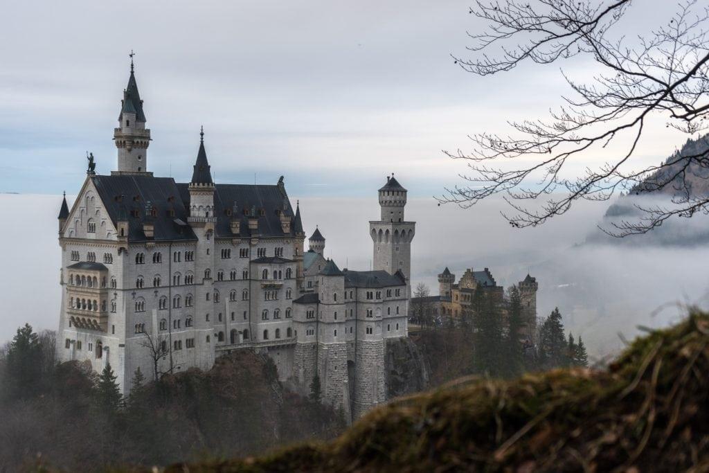 Impresionante castillo de Alemania