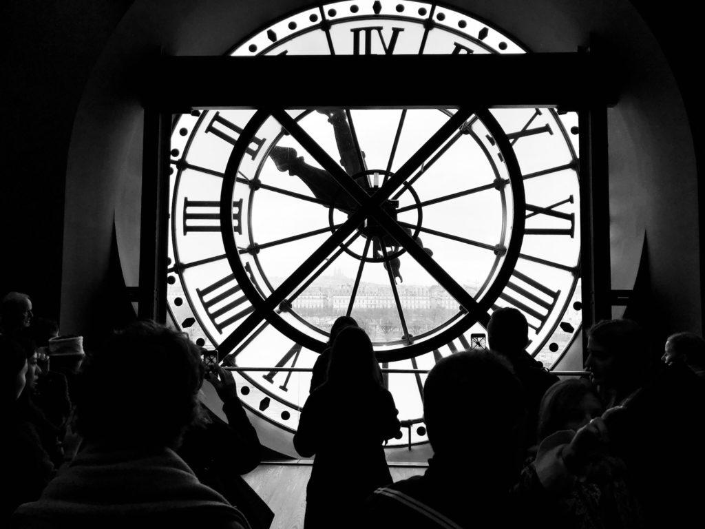 reloj móvil