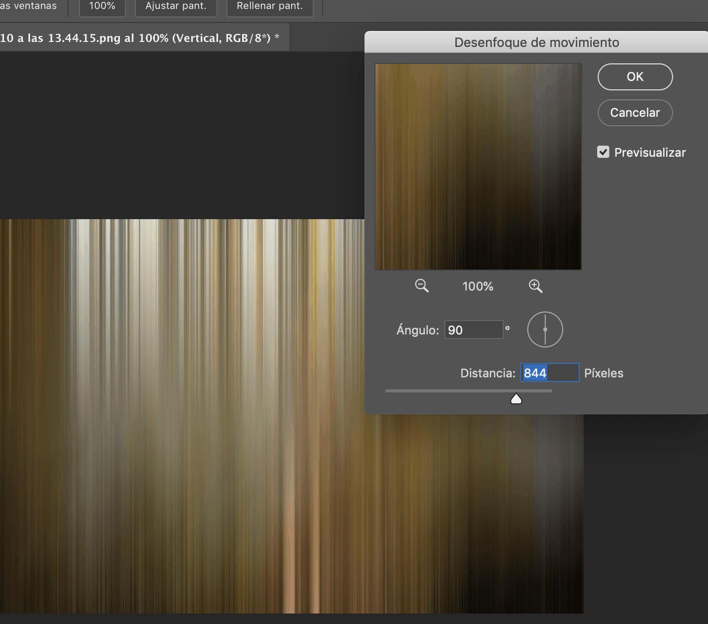 efecto adamski filtro