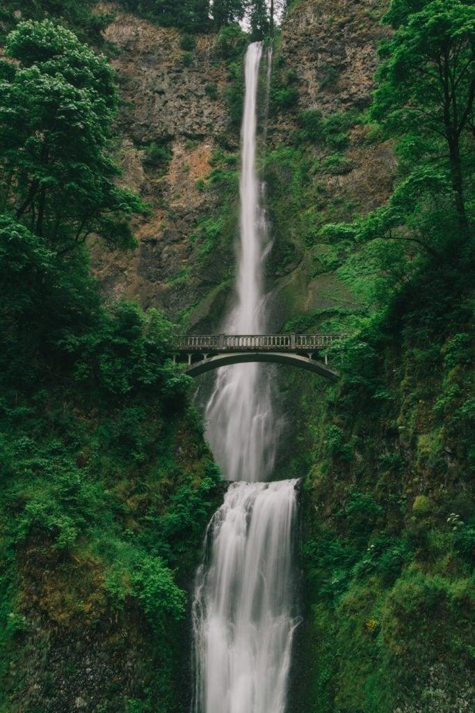 cascada en vertical