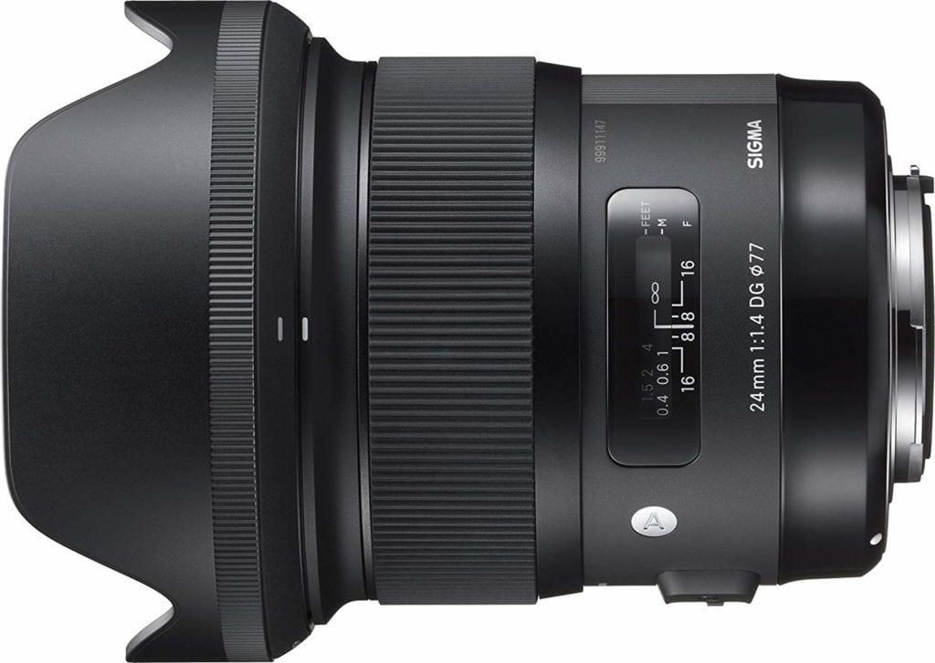 Objetivos Angulares para Nikon Sigma 24mm