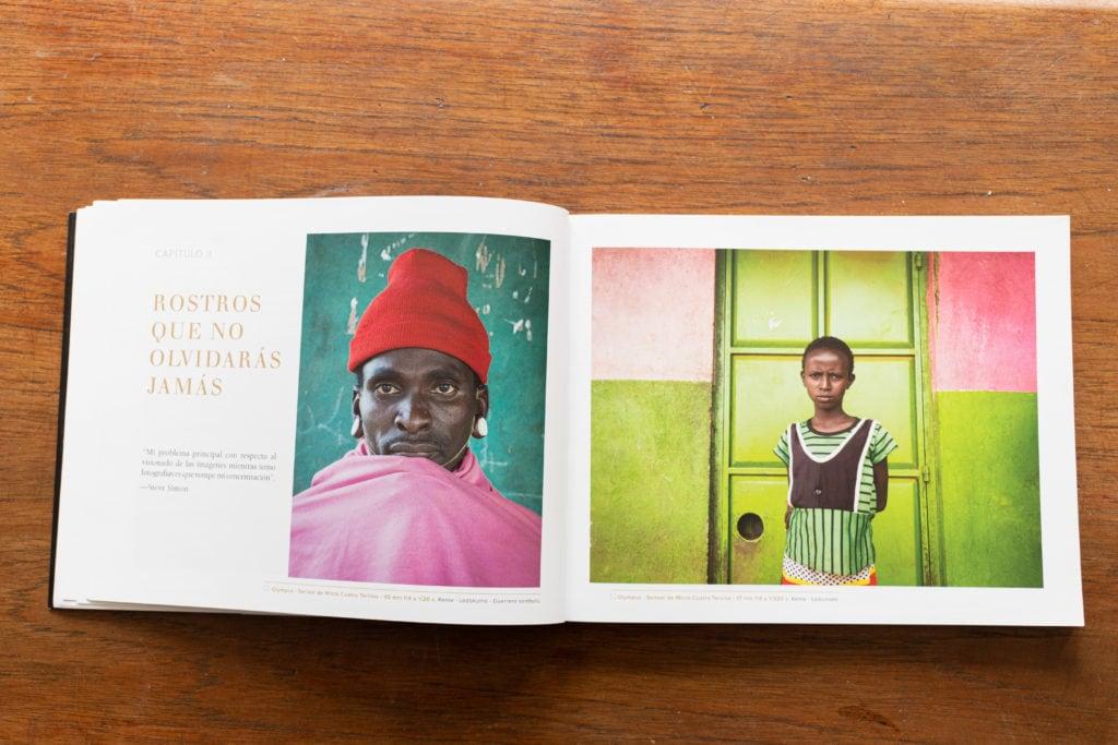 interior del libro los secretos de la fotografía de viajes