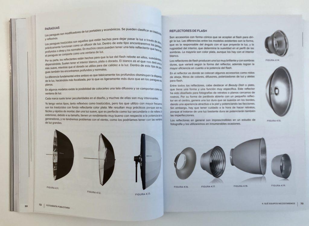 Interior libro Fotografía publicitaria