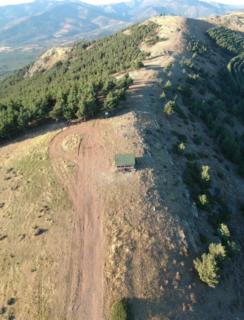 Monte desde un dron