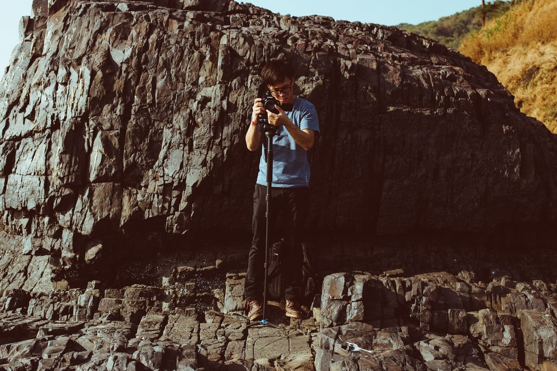 Monopie fotografia