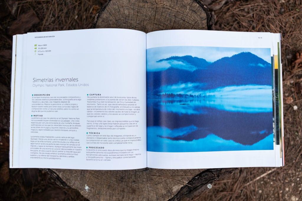 Foto del interior del libro de Iñaki relanzón