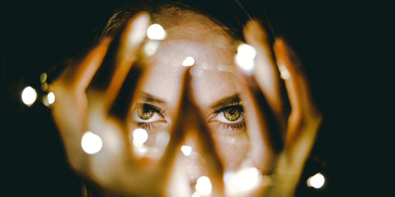 ojos luz interior