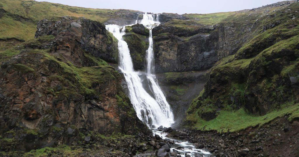Cascada fotografiada con la canon Powershot