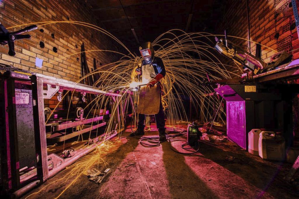 foto ganadora del fotoreto24 lightpainting