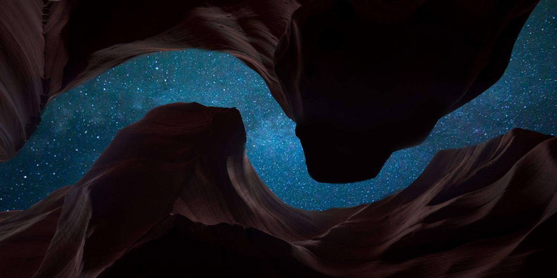 naturaleza cielo estrellas