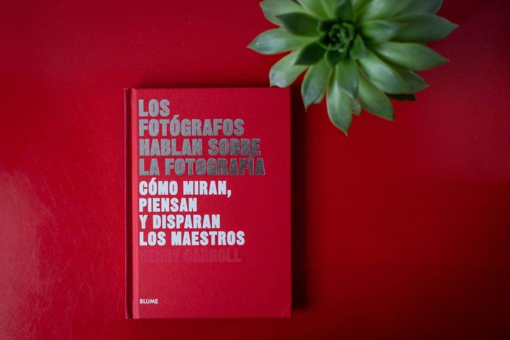 Portada del libro Los fotógrafos hablan sobre la fotografía