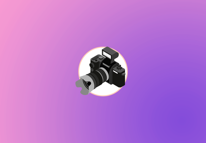 Cabecera del infográfico sobre hábitos del fotógrafo