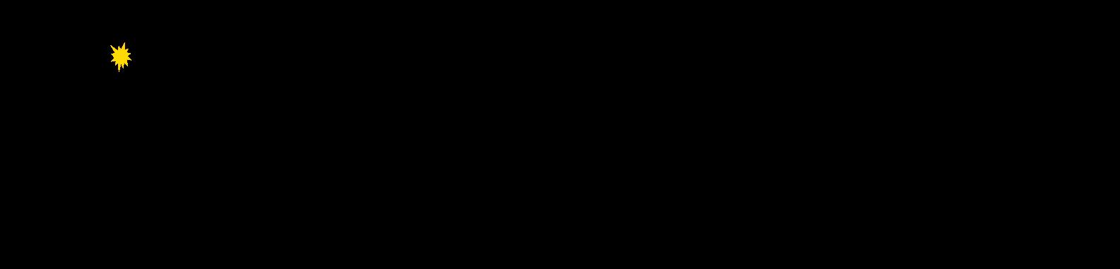 gráfico con datos del cuadrado inverso