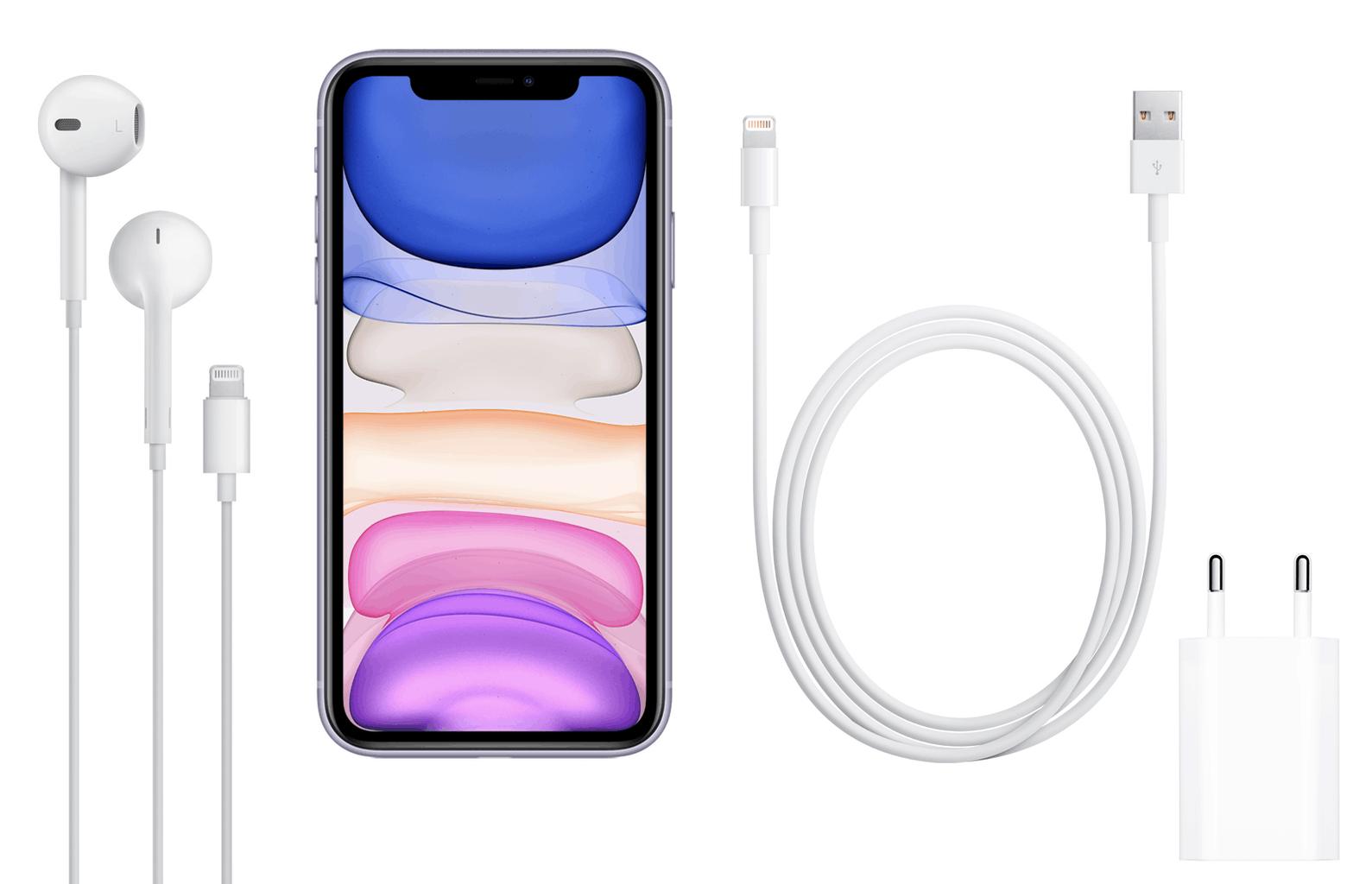 iphone 11 contenido caja