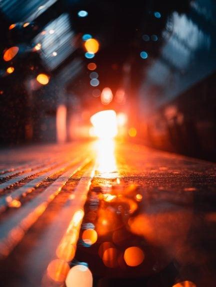 foto con temperatura de color cálida