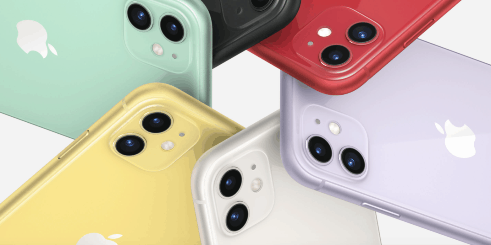 colores iphone 11