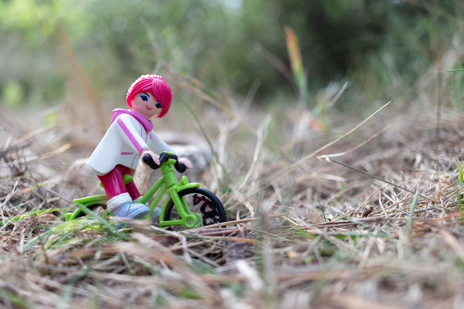 Playmobil desenfocado