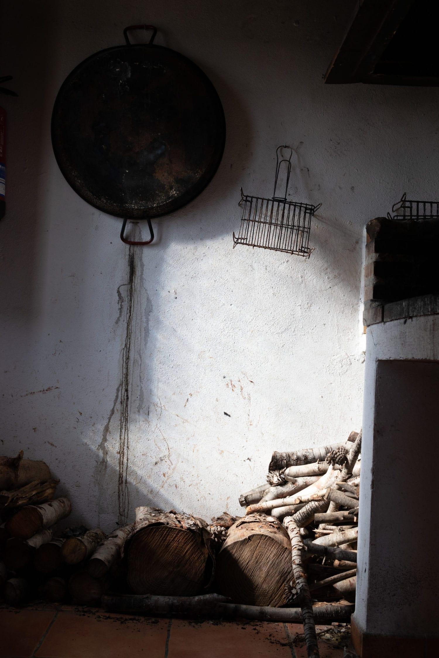 Foto de barbacoa editada con Photo Editor