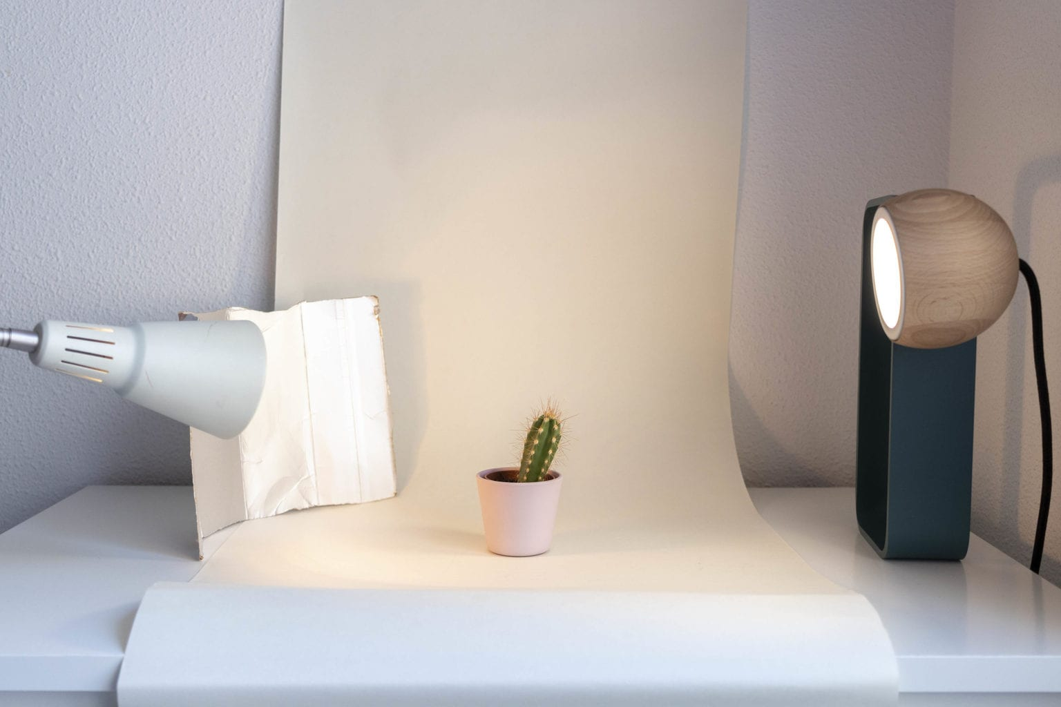 Estudio de fotografía casero