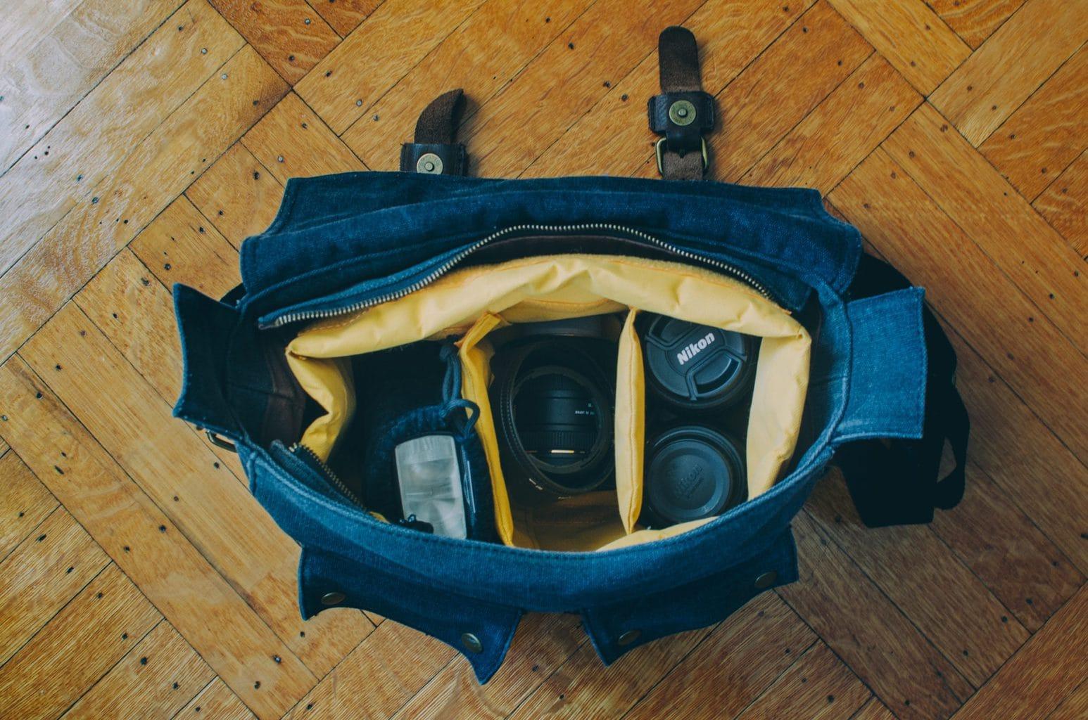 Bolsa para equipo fotográfico