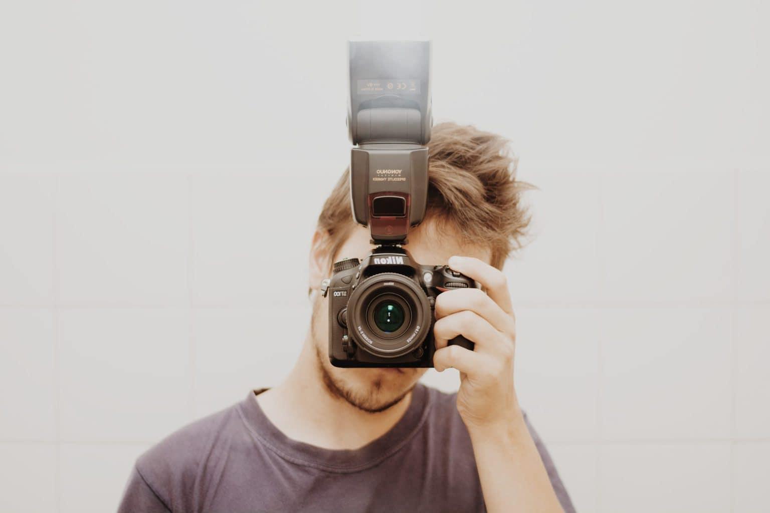 flash fotografo
