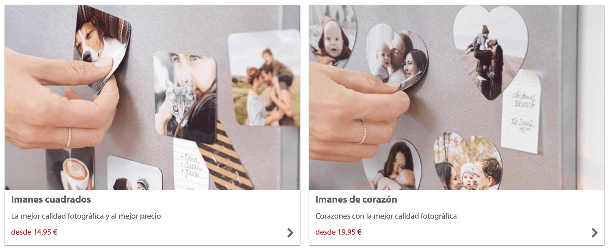 imágenes de imanes de CEWE