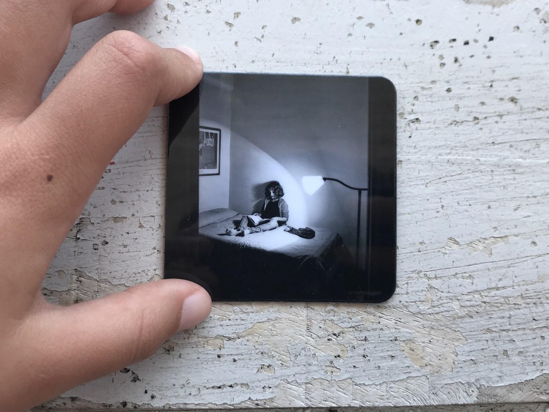 Iman de CEWE con foto en blanco y negro