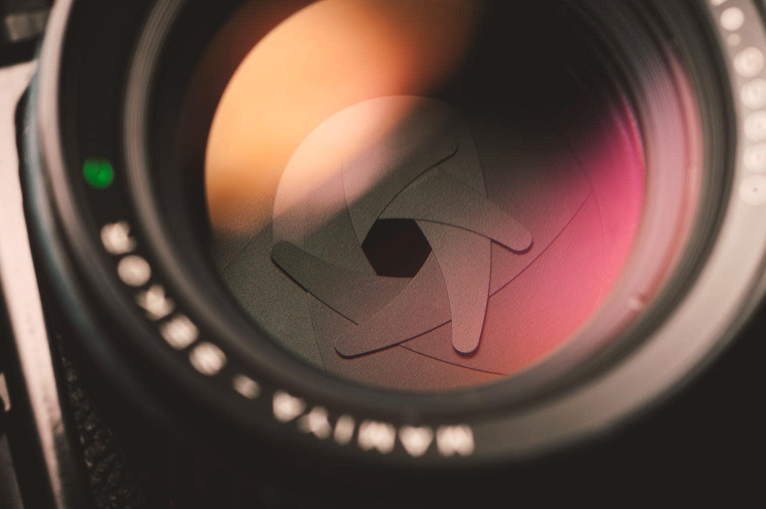 Diafragma de una cámara