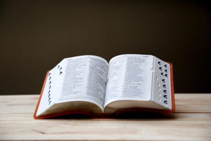 diccionario como portada para artículo glosario