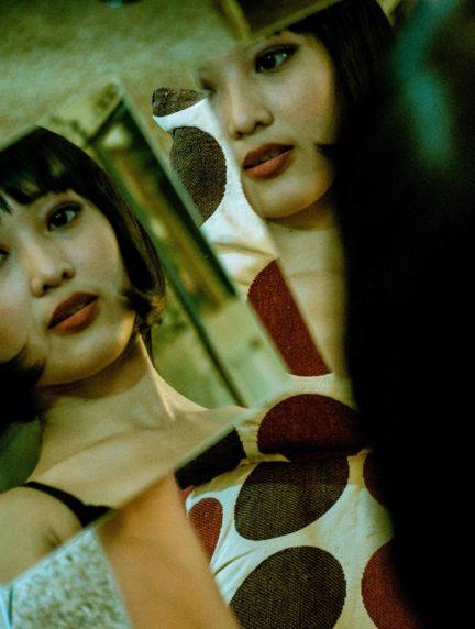 Retrato doble por juego espejos