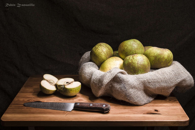 manzanas bodeón