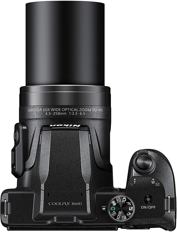 vista del zoom de la nikon coolpix B600