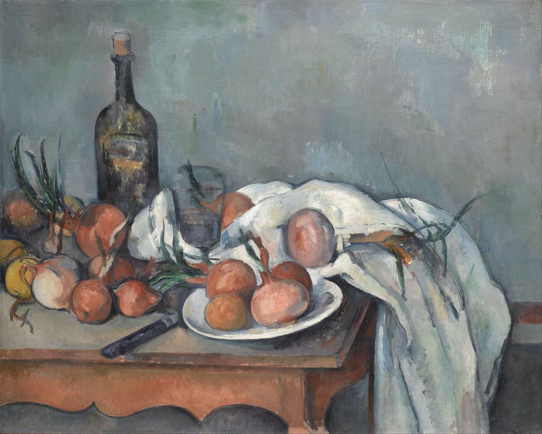 bodegón Cézanne