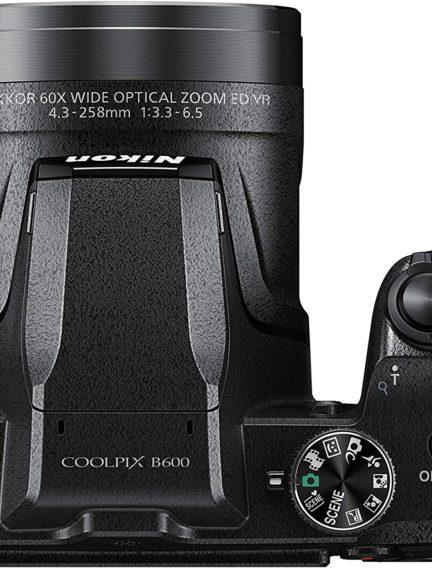 Vista superior coolpix B600