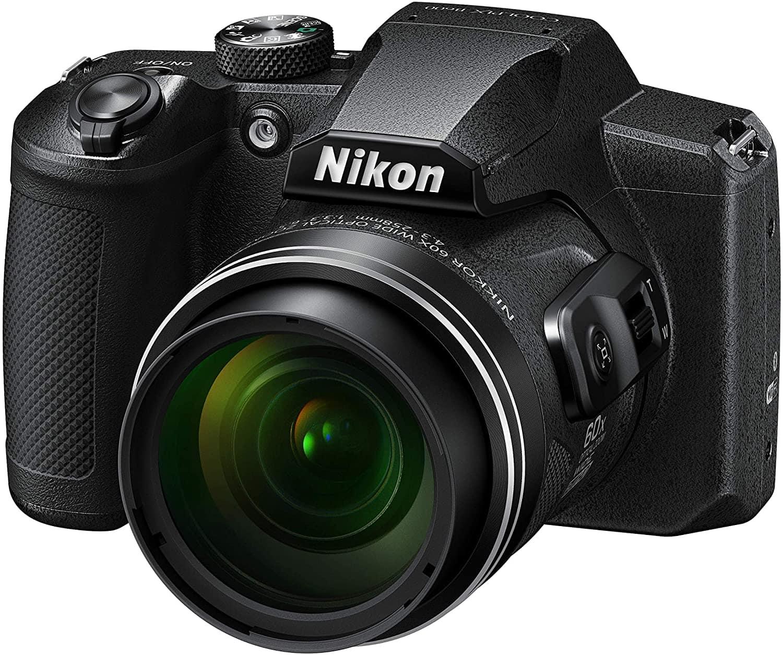 Vista de frente de la n Nikon Coolpix B600