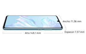 dimensiones Huawei P30