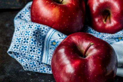 bodegón manzanas