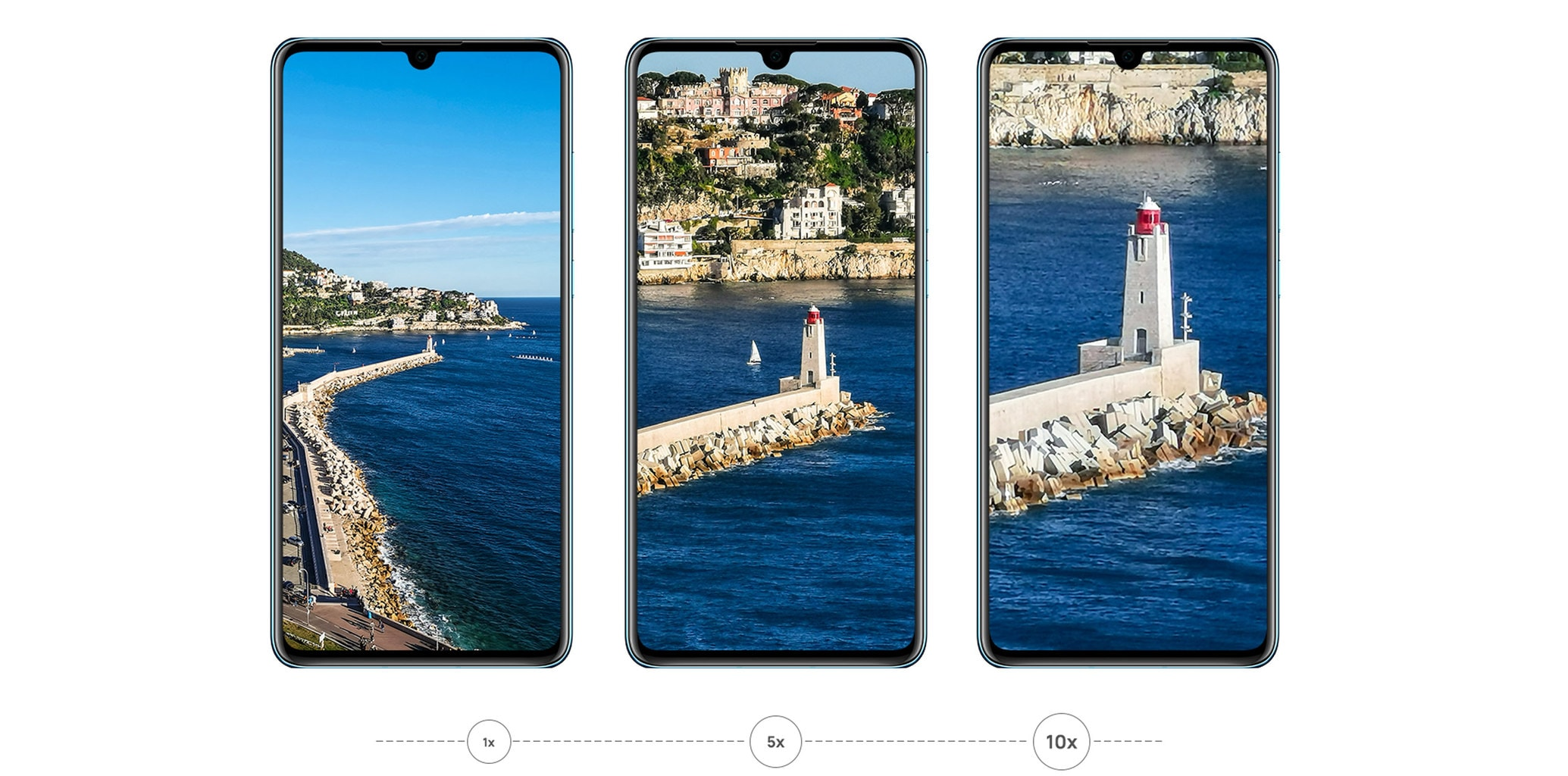 Imágenes de zoom del Huawei P30