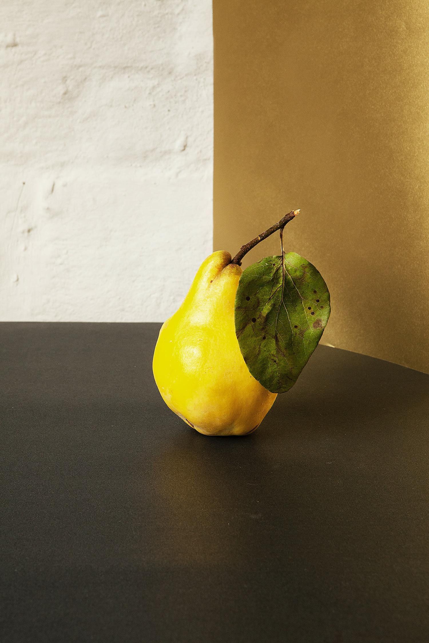 limón composición amarillo