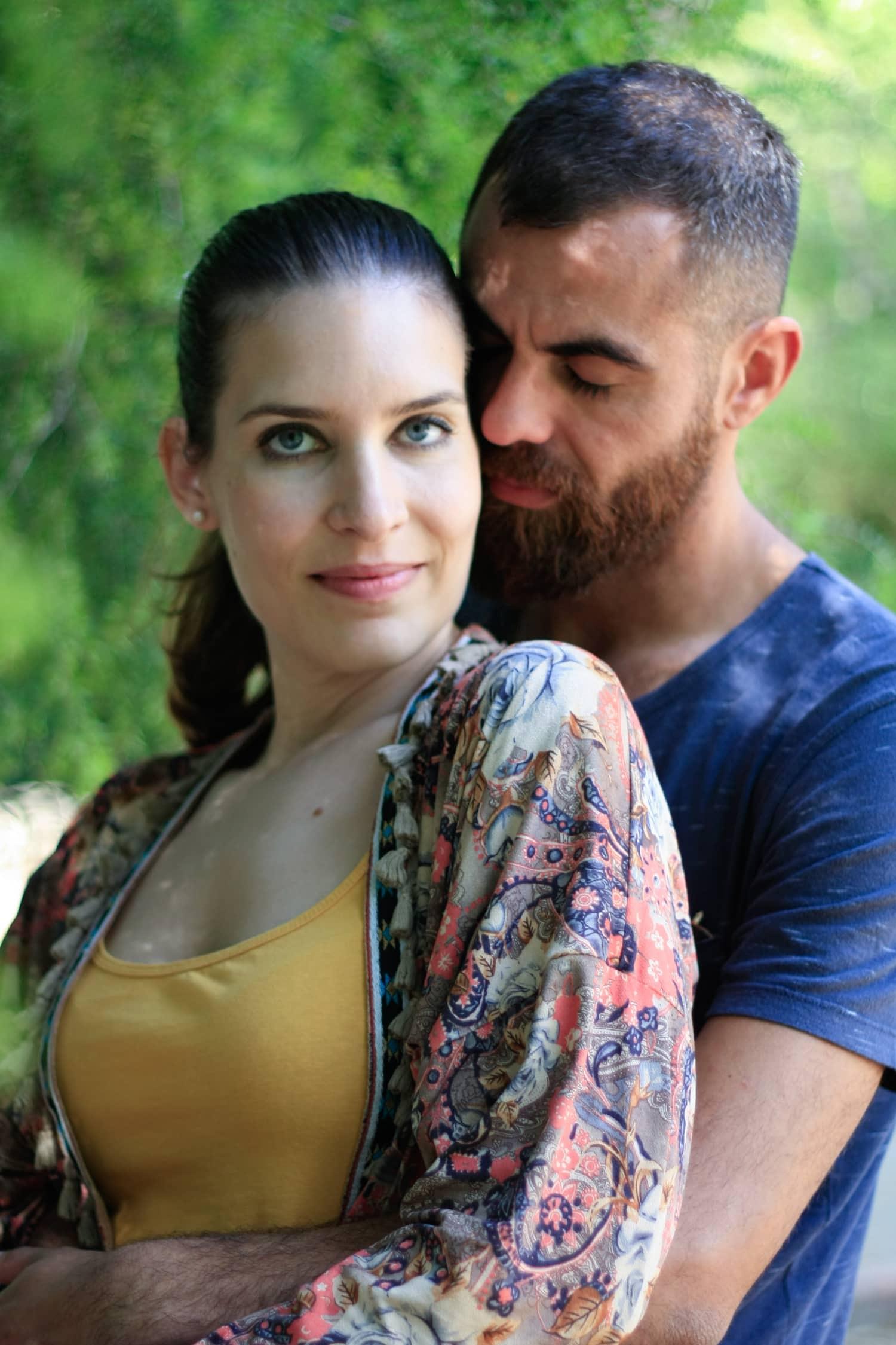 Retrato de pareja con 50mm