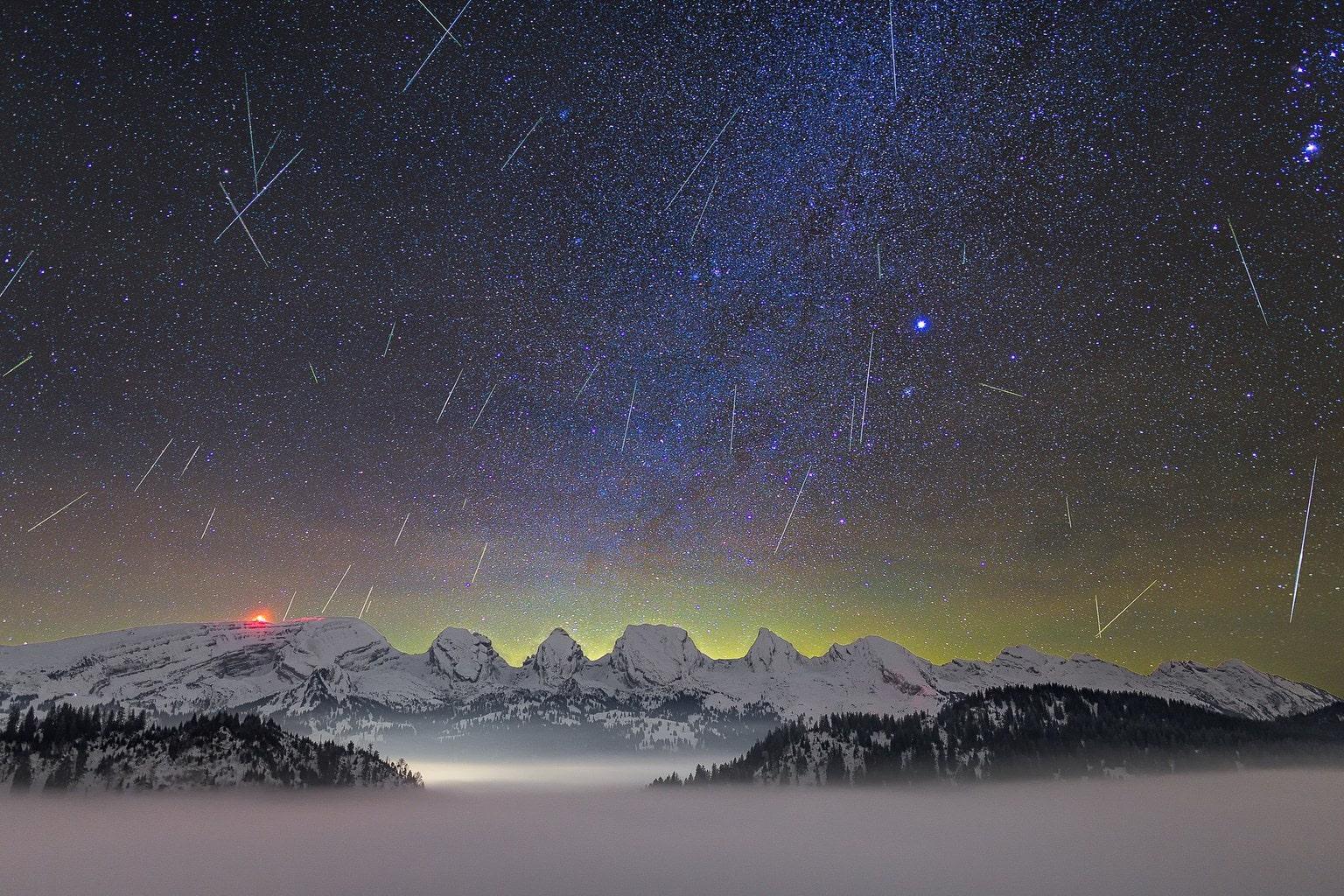 lluvia de estrellas